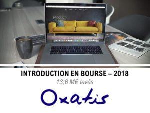 Introduction en bourse de Oxatis en 2018